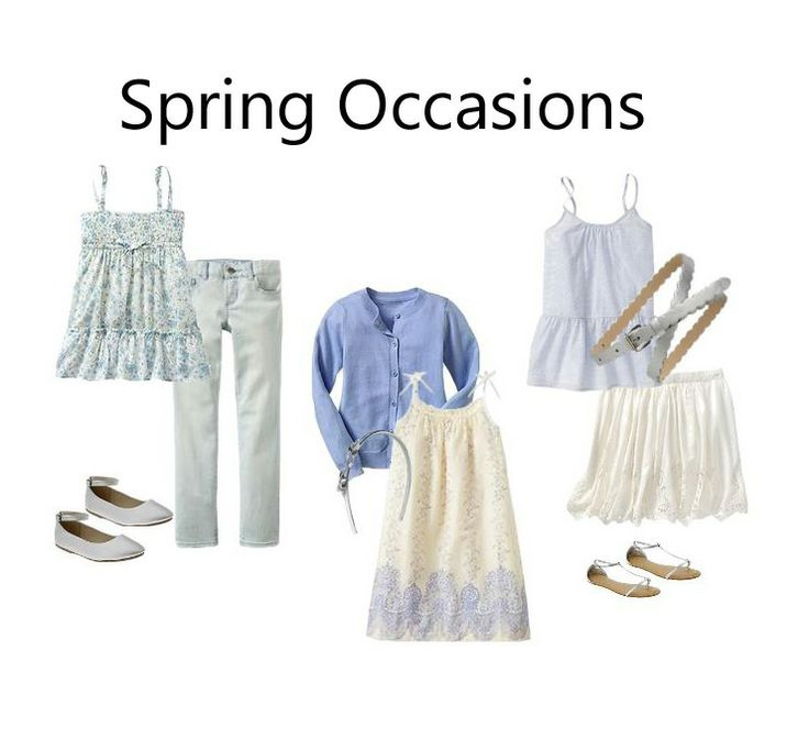 Girls Spring Occasions