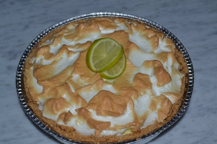 "My ""perfect"" lime pie."