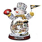NFL Pittsburgh Steelers Superbowl Champions Figurine   On February 1, 2009, the Pittsburgh Steelers lit up the scoreboard at Super Bowl XLIII. Now you can celebrate this historical win with this limited-edition Pittsburgh Steelers Christmas decoration