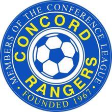 1967, Concord Rangers F.C. (Canvey Island in Essex, England) #ConcordRangersFC #UnitedKingdom (L15044)