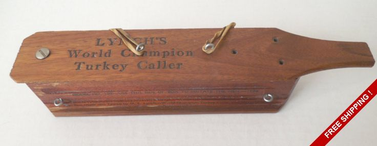 Vintage 1958 Lynch's World Champion Turkey Call #102//GOBBLE GOBBLE by VintageSistersx2 on Etsy