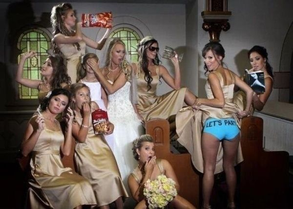FUNNIEST WEDDING PHOTOS Lol one of @Lara Novosad 's very original & awesome wedding photos w/her bridesmaids  ( @Heather Tompkins @Jennifer Miller @Christine Miller & @Leanne Bergen-Holobaugh ) made it's way on to this site:) ❤️  http://mindblowin.gs/gallery.php?gal=FUNNIEST-WEDDING-PHOTOS&tit=Naughty-Bridesmaids-are-ready-for-the-Party