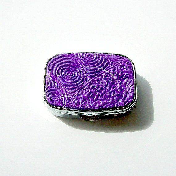 Mint Box / Pill Box / Trinket Box by VictoriasPolymerArt on Etsy, £6.75