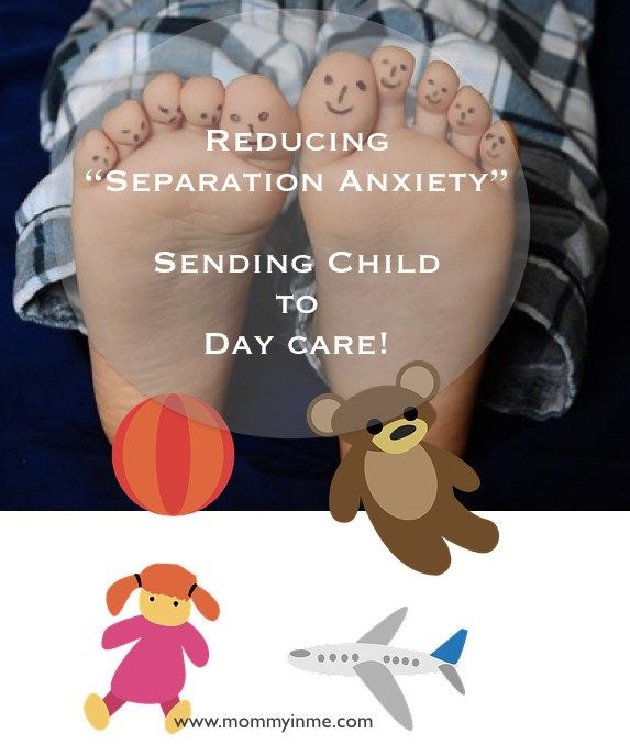 how to help a child with separation anxiety at daycare