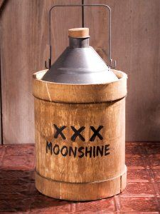 Vintage Olde Moonshine Jug