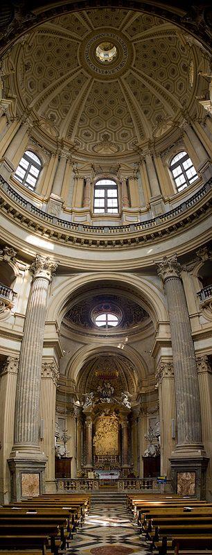 Basilica di Superga - Torino, Piemonte, Italia.