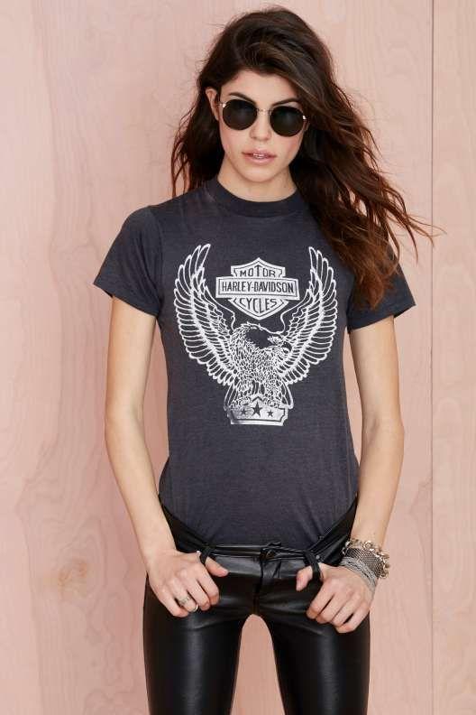 Vintage Harley-Davidson Star Eagle Tee - Festival Shop