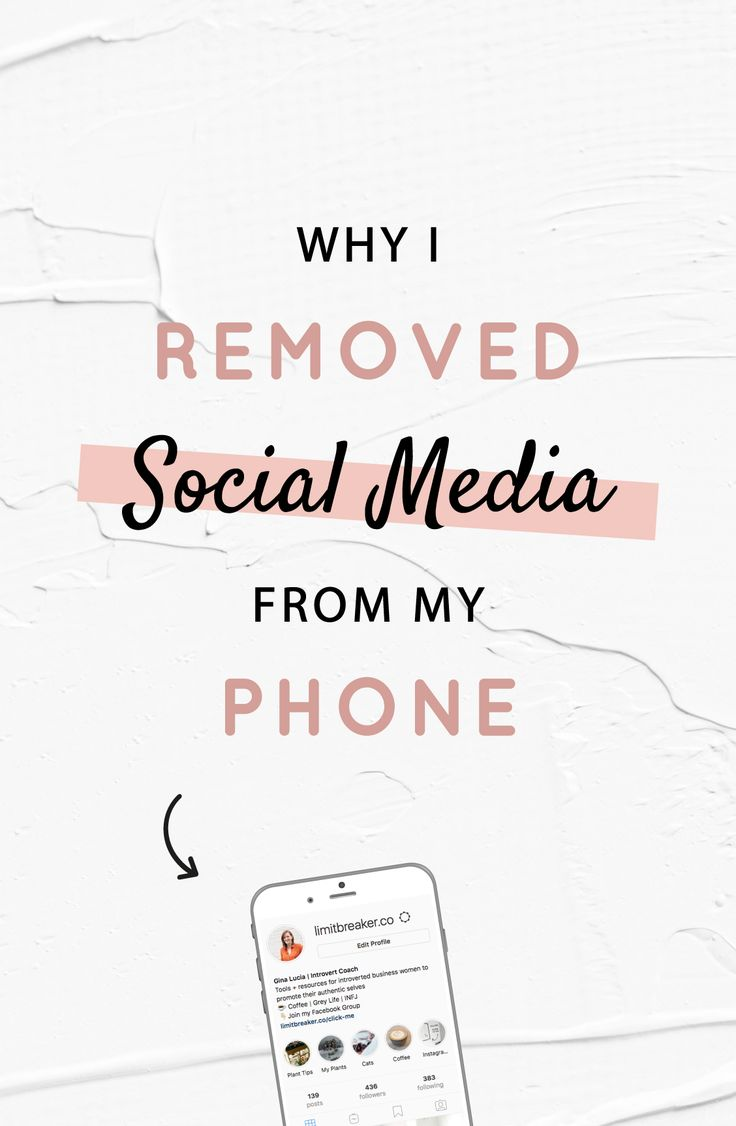 The Beautiful Release: Why I Removed Social Media From My Phone
