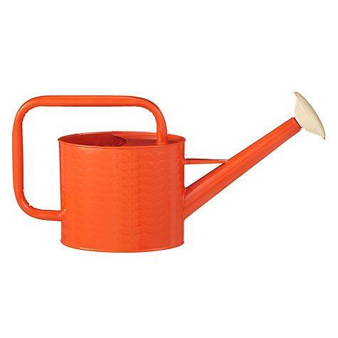 Buy Orla Kiely Watering Can, Orange Online at johnlewis.com