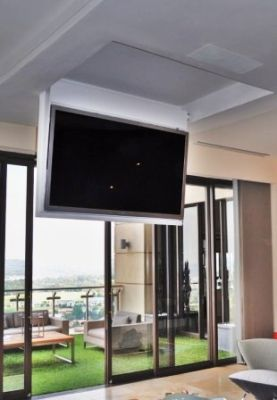 hang tv from ceiling mount - Google Search