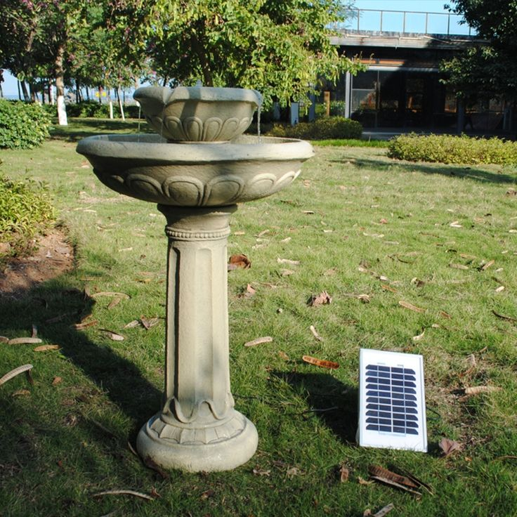 The 167 Best Images About Solar Water Features On Pinterest Ceramics Garden Fountains And