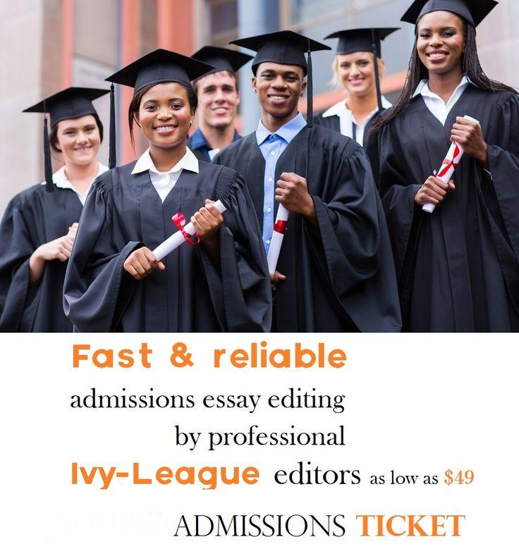 Ivy league admission essays