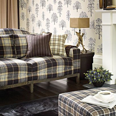 Osbourne And Little Tartan Sofa Decorating Ideas Interiors