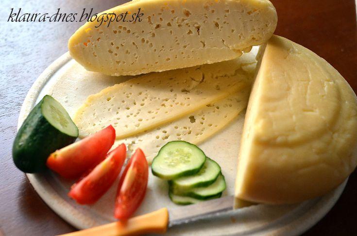 Fotorecept    Domáci tvrdý syr