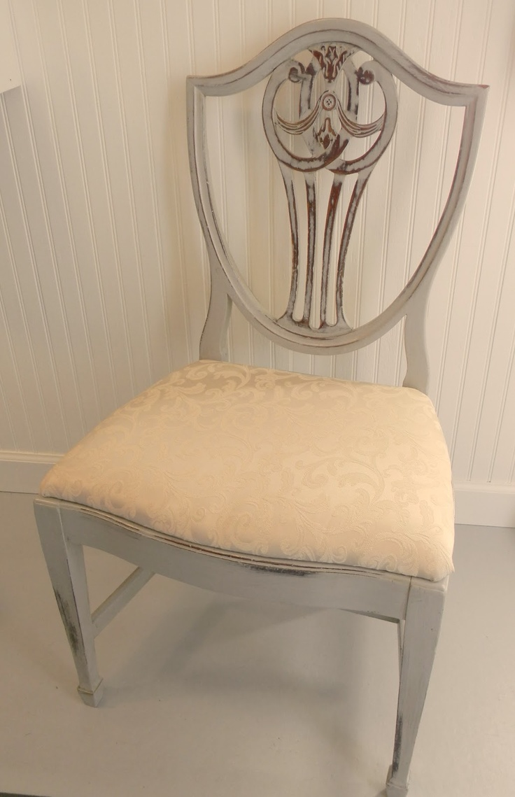 This hand painted hepplewhite style chairs is no longer available - Hepplewhite Shieldback Chairs
