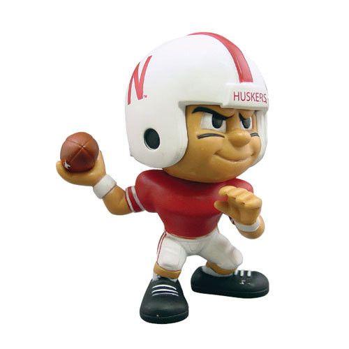 Nebraska Cornhuskers NCAA Lil' Teammates Vinyl Quarterback Sports Figure (2 3/4 Tall)