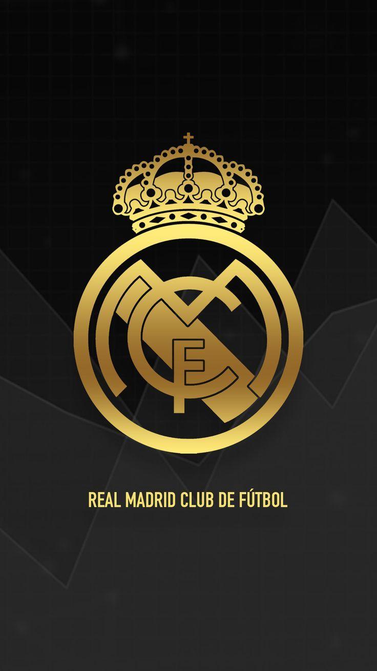 Real Madrid Gold Real Madrid Logo Real Madrid Logo Wallpapers Real Madrid Wallpapers