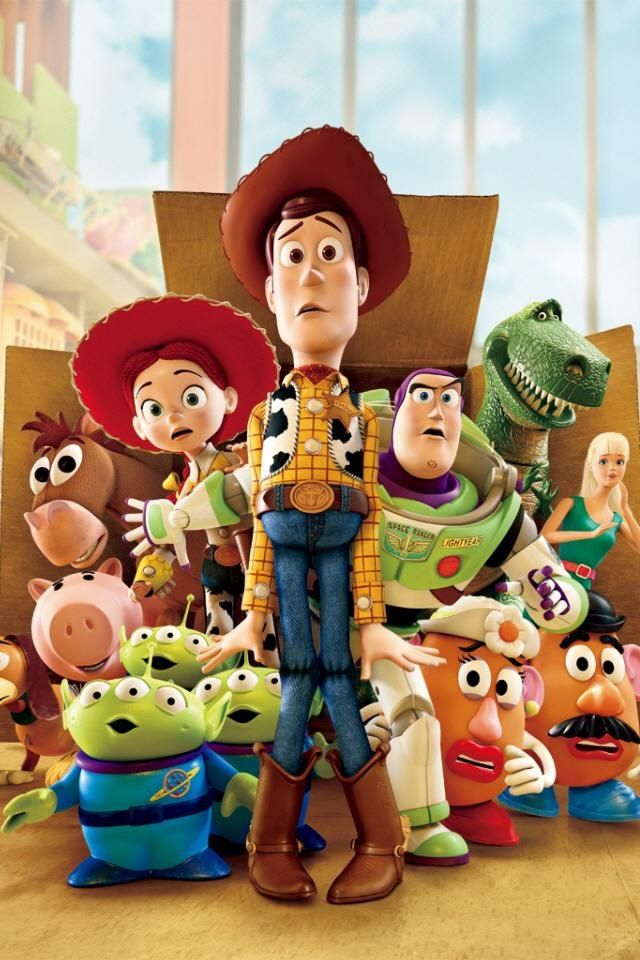 Toy Story (1995) First movie made by Pixar. Directed by John Lasseter
