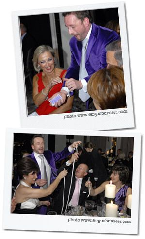 Lee Warren - a magician you will always remember - and not just because of his purple suit!