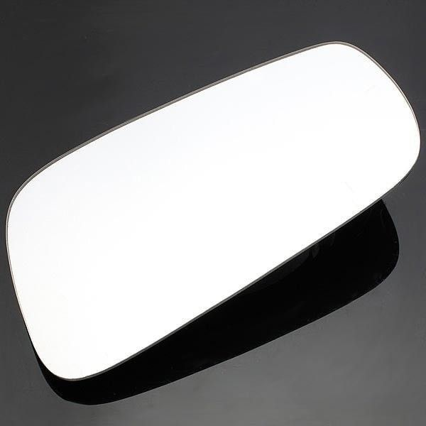 White Side Mirror Glass for Volkswagen VW Jetta Golf 1999-2004. Description:    material: Glass  color: White  quantity: 1 (left Or Right)  mirror Measures 7 3/8' Diagonal  this Item Is The Mirror Glass Only - No Backing Plate Is Attached.  this Mirror Is The Heated Version.  mirror Is Real Glass - Not Plastic.  installation With A Clear Silicone Adhesive Ensures A Permanent Bond To The Backing Plate.  installs In Just Minutes!    note:    1.this Sale Is For The Glass Only, You Will Need To…