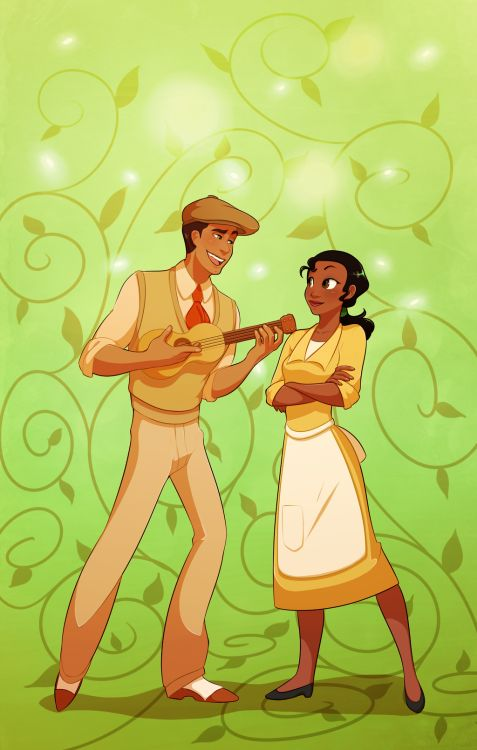 Tiana and Naveen | Disney's The Princess and the Frog