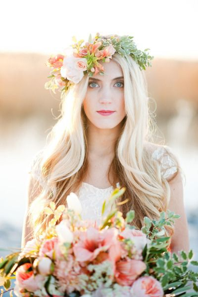 Peach, Mint & Blue Wedding Ideas & Inspiration see more at http://www.wantthatwedding.co.uk/2015/01/18/peach-mint-blue-wedding-ideas-inspiration/