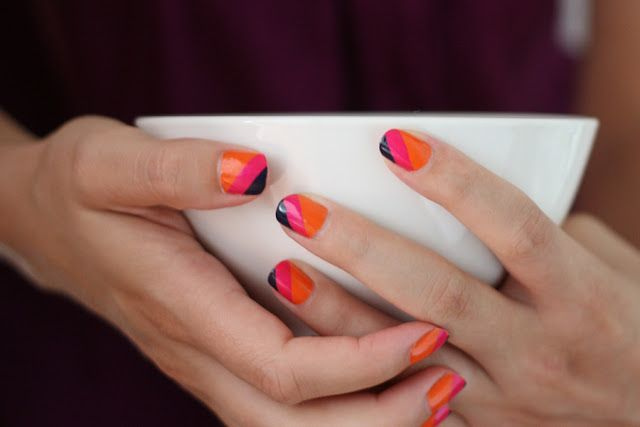 ink + adventure: summer stripes [the nail files]