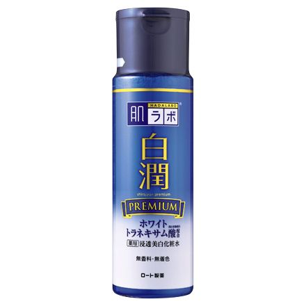 HADA LABO Shirojun Premium Lotion — лосьон для фарфоровой кожи — Melon Panda Beauty Shop