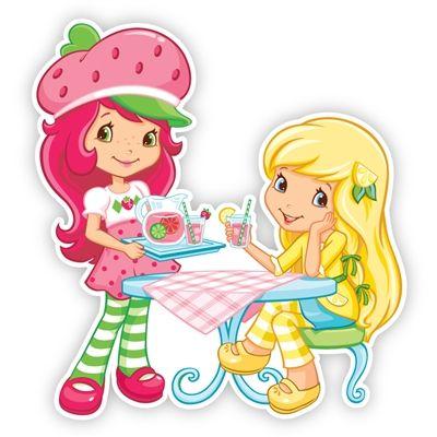 Strawberry Shortcake Wall Graphics from Walls 360: Strawberry Shortcake and Lemon Meringue