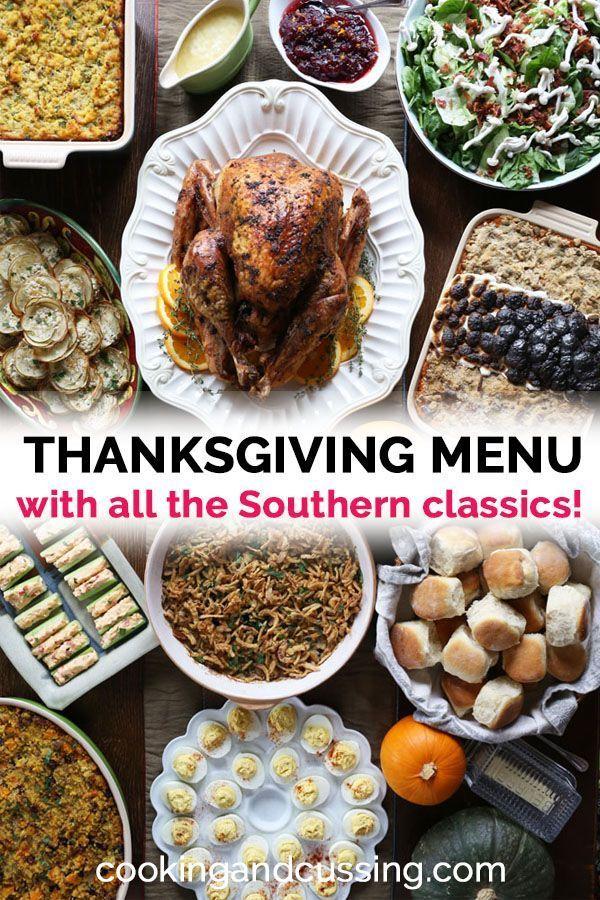 Thanksgiving Dinner Menu Thanksgiving Dinner Menu Thanksgiving Menu Christmas Food Dinner