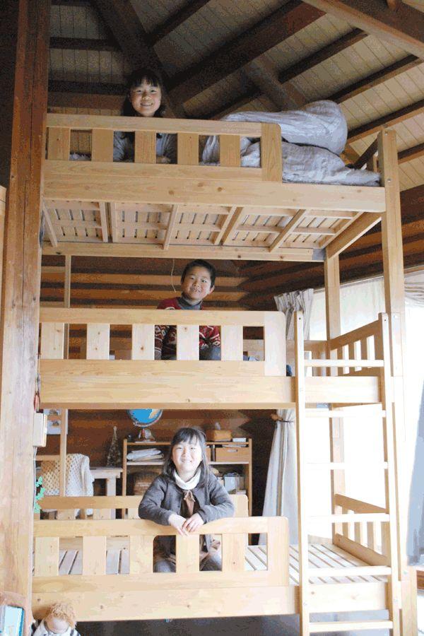 過去に三段ベッド購入のお客様画像 | オーダーベッド製作実績・ロフト ... DSC_1135.gif