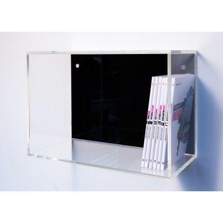 Cubo 50x35 spessore 1cm mensole modulari a cubo in for Arredo shop online