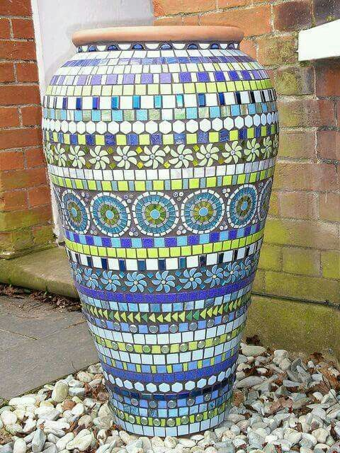 Egyptian pot mosaic