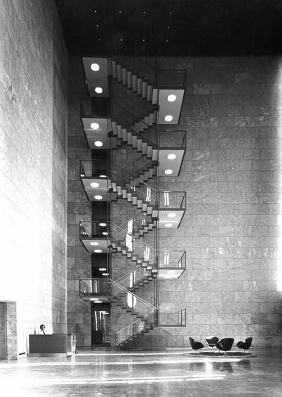 Danmarks Nationalbank by Arne Jacobsen
