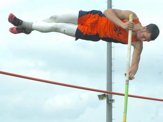 Down To The Wire In Pole Vaulting Pole Vault Vaulting Wire
