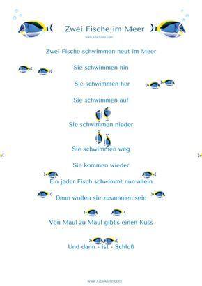 Fingerspiel Fische