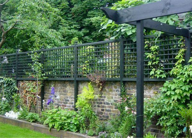 Contemporary Traditional Trellis Horizontal Tr Garden