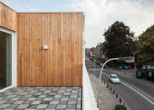 zampone daycare centre features wooden walls