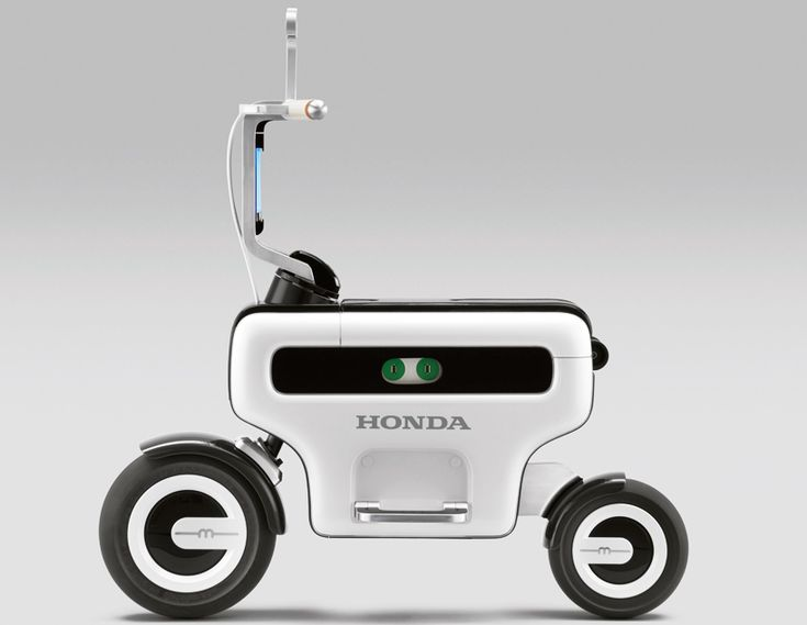 Honda is rethinking the scooter in an urban environment.  @ R. Lacy...or would you rather have this COD.
