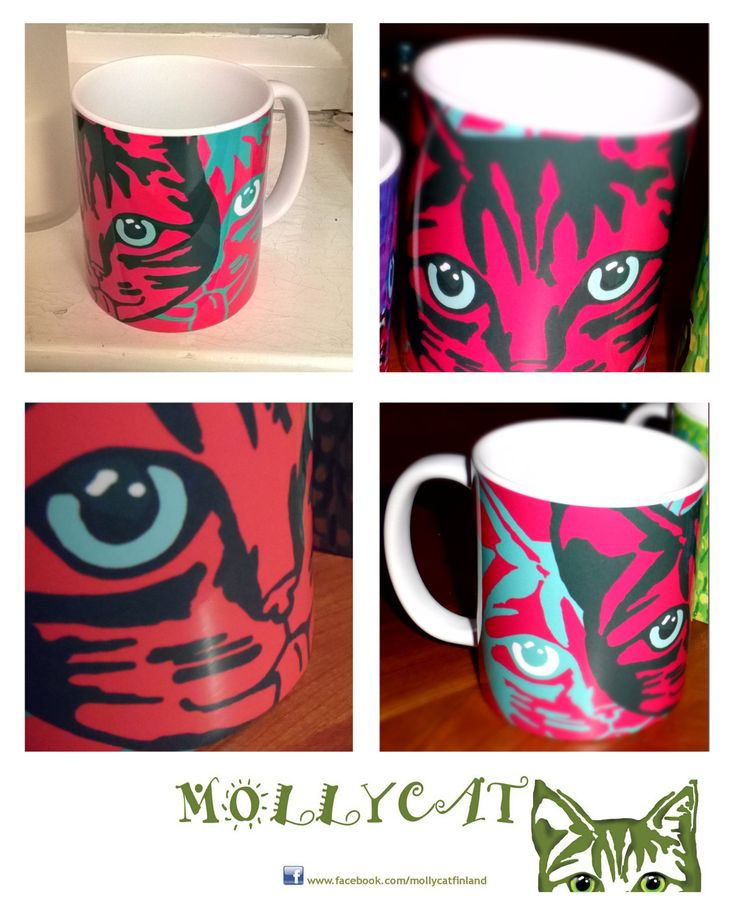 New!!! ..Mollycat Close-up Mug 1st edition out now! #mollycat #cat #mollycatfinland #designer #mugs #cups #coffee #tea #drinks #catseyes #cute #coffeebreak #new #christmasgifts #gifts #society6 #shareyoursociety6 #original #artists