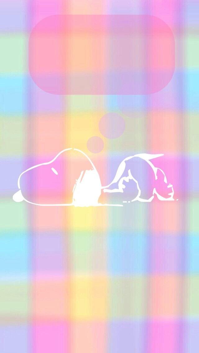 スヌーピー ロック画面 虹の壁紙 壁紙 スヌーピー