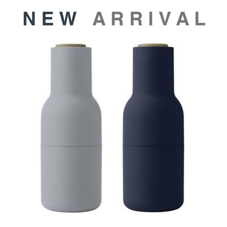Crush it with more than your cuisine when entertaining guests… our best selling MENU Salt & pepper Grinders now come in this Classic Navy too! ✖