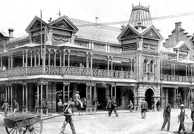 Rand Club in 1888