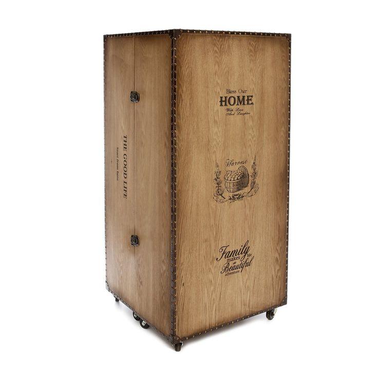 Armadio a baule con ripiani e cassetti: Amazon.it: Casa e cucina