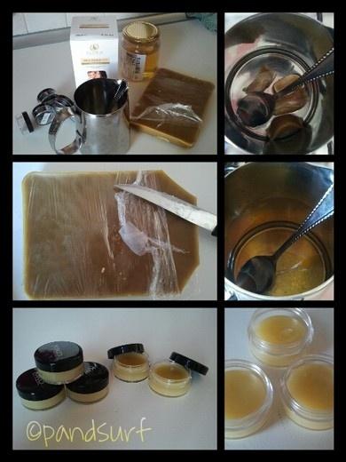 Il burro cacao al miele DIY. Io, me e Pand