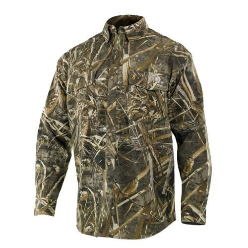 Wasatch Shirt, Mossy Oak Shadowgrass Blades - Medium Outdoor Store Wasatch Shirt, Mossy Oak Shadowgrass Blades – Medium Manufacture ID: 3011352502 Browning Wasatch field wear is sewn from a heavyweight, cotton-rich fabric that is tough enough for every adventure, yet is soft, comfortable and breathes to keep hunters cool on warm days. With styles ideal for every need, versatile Wasatch is ready to hunt…