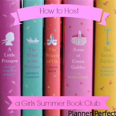How to Host a Girl's Summer Book Club - awesome tips and summer RECIPES www.joycomesinthemorning.net