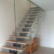 Bilderesultat for trapp med glassrekkverk
