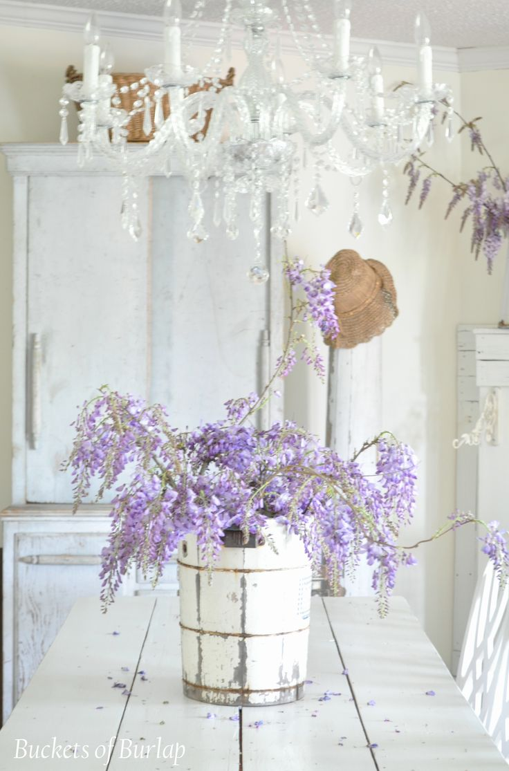 Use Vintage Items As Unique Vases For Fresh Cut Flowers Blooms In The Spring
