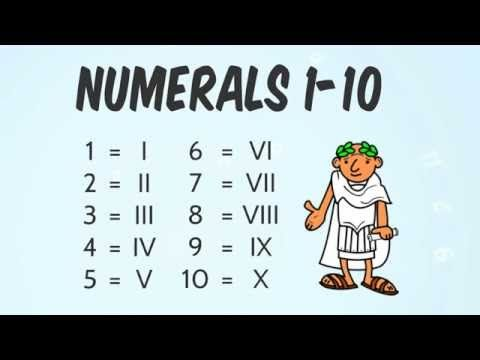 How to Read Roman Numerals - YouTube Excellent video from Socratica Kids
